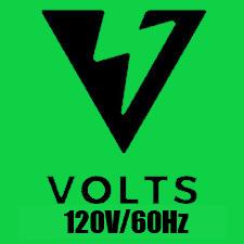 120V/60Hz - North America